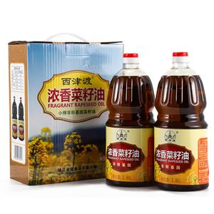 盒装浓香菜籽油