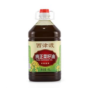 纯正菜籽油4L